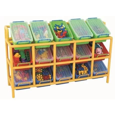 Gigo Classroom Furniture Tilt Storage Bin Frame 15 Bins Buy Online In South Africa Takealot Com In 2020 Toy Storage Solutions Toy Storage Kid Toy Storage