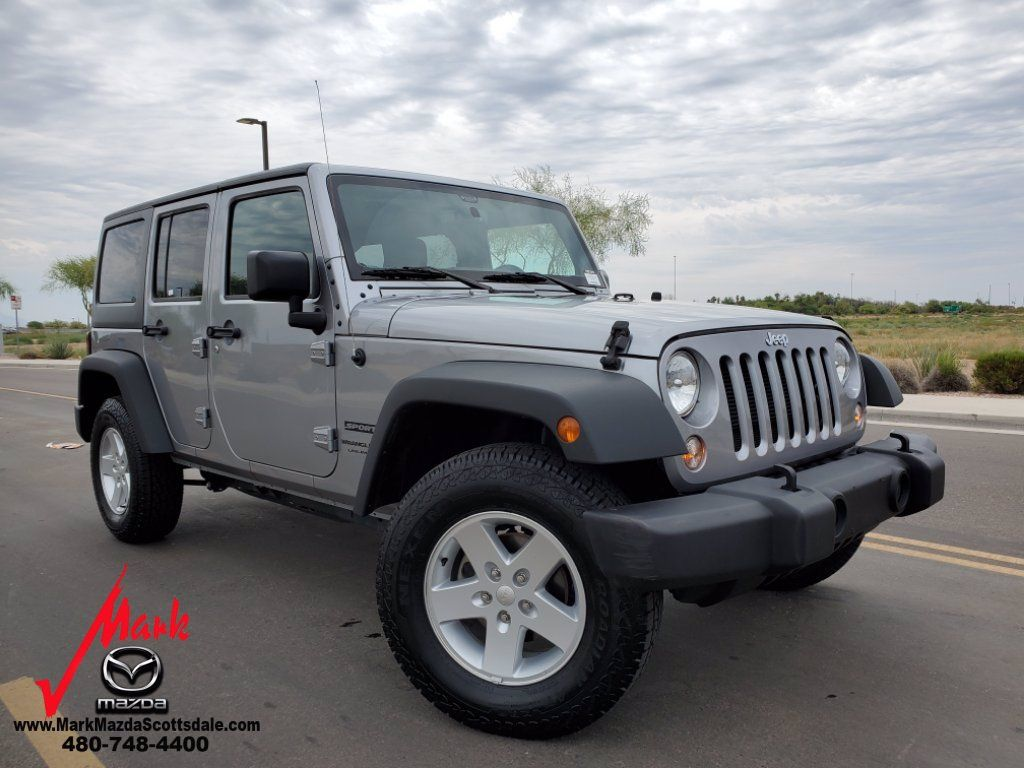 Used 2016 Jeep Wrangler Sport SUV 2D Pricing Kelley Blue