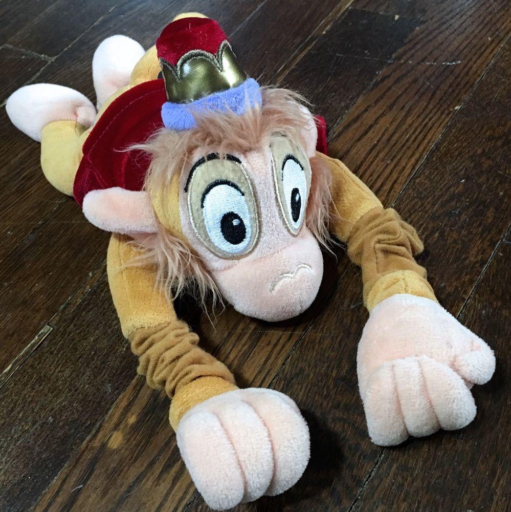 ︎ Retired ABU Monkey PLUSH Flying & Talking Stretchy
