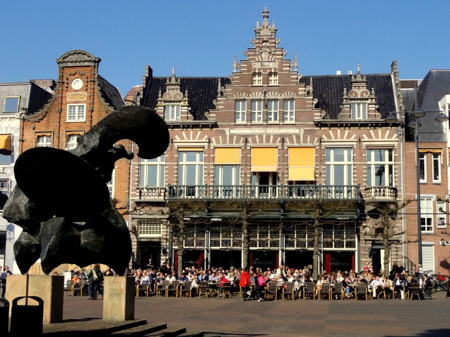 Grand Cafe Brinkmann at the Grote Markt, Haarlem.