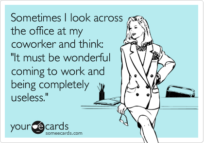 Training or being a preceptor is tough sometimes | Work ...  |Office Work Funny Memes Being Ignored