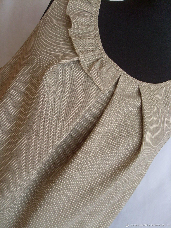 c546a83c3cc Платья ручной работы. Ярмарка Мастеров - ручная работа. Купить Сарафан-туника.  Handmade