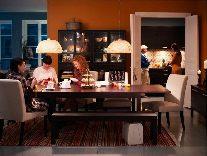 My Dream Ikea Dining Room  For The Home  Pinterest  Ikea Dining Inspiration Ikea Living Dining Room Inspiration