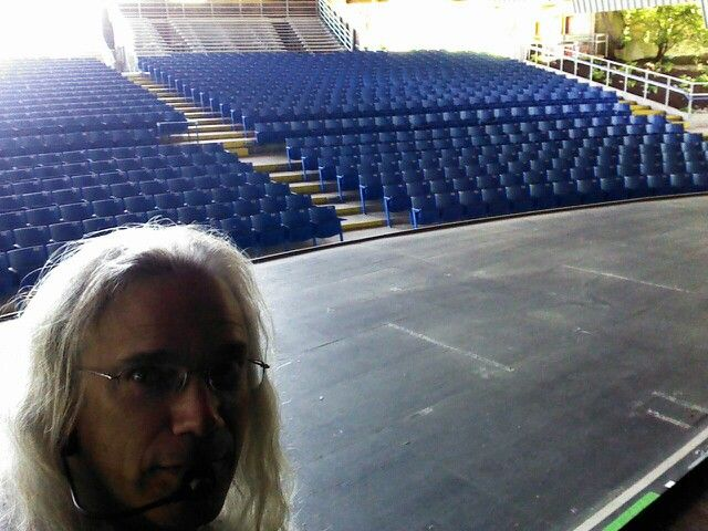 Playing For The Peeps In The Dodger Blue Seats Foellinger Theatre Ft Wayne Indiana Concert Dodger Blue Opera House