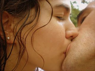 french kissing literally