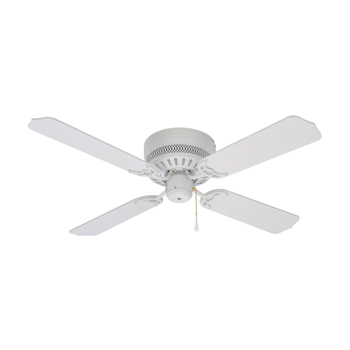 Shop Litex Cci42ww4 42 In Celeste Flushmount Ceiling Fan At The