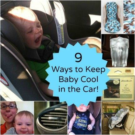 9 Ways To Keep Kids Cool In The Car This Summer