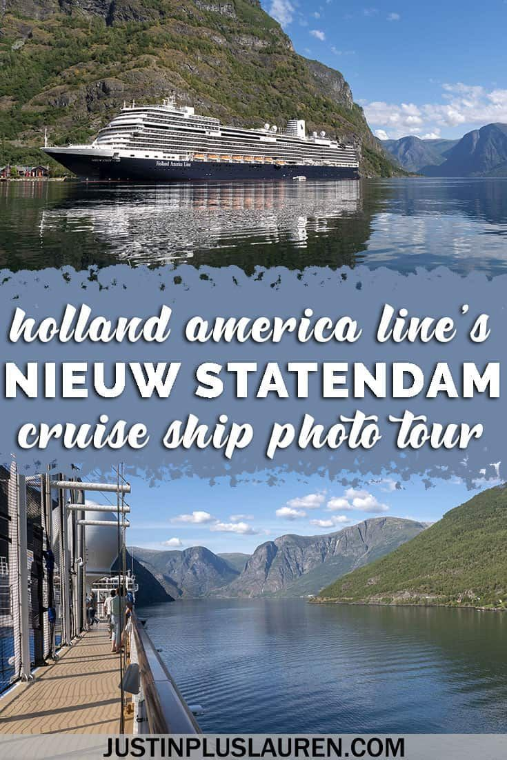 Holland America Statendam Deck Plans