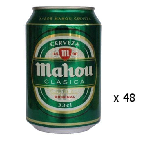 Biere Mahou Clasica 33cl 4 8º Lot De 48 Espagnol Cervelas