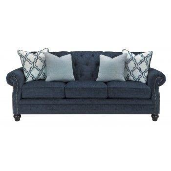 Lavernia Navy Sofa Ashley, Whit Ash Furniture Columbia Sc