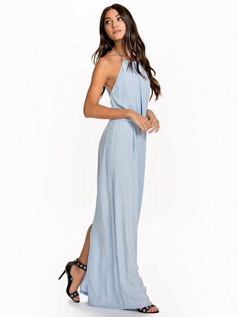 e2ee5bb60 Nelly.com: Willow Long Dress - Samsøe Samsøe - women - Cashmere Blue ...
