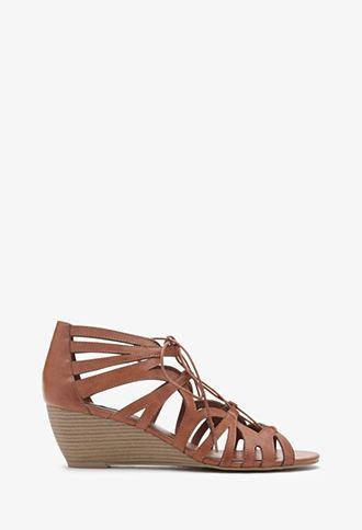 25 Lace-Up Wedge Sandals  4a8dfeae6c0e
