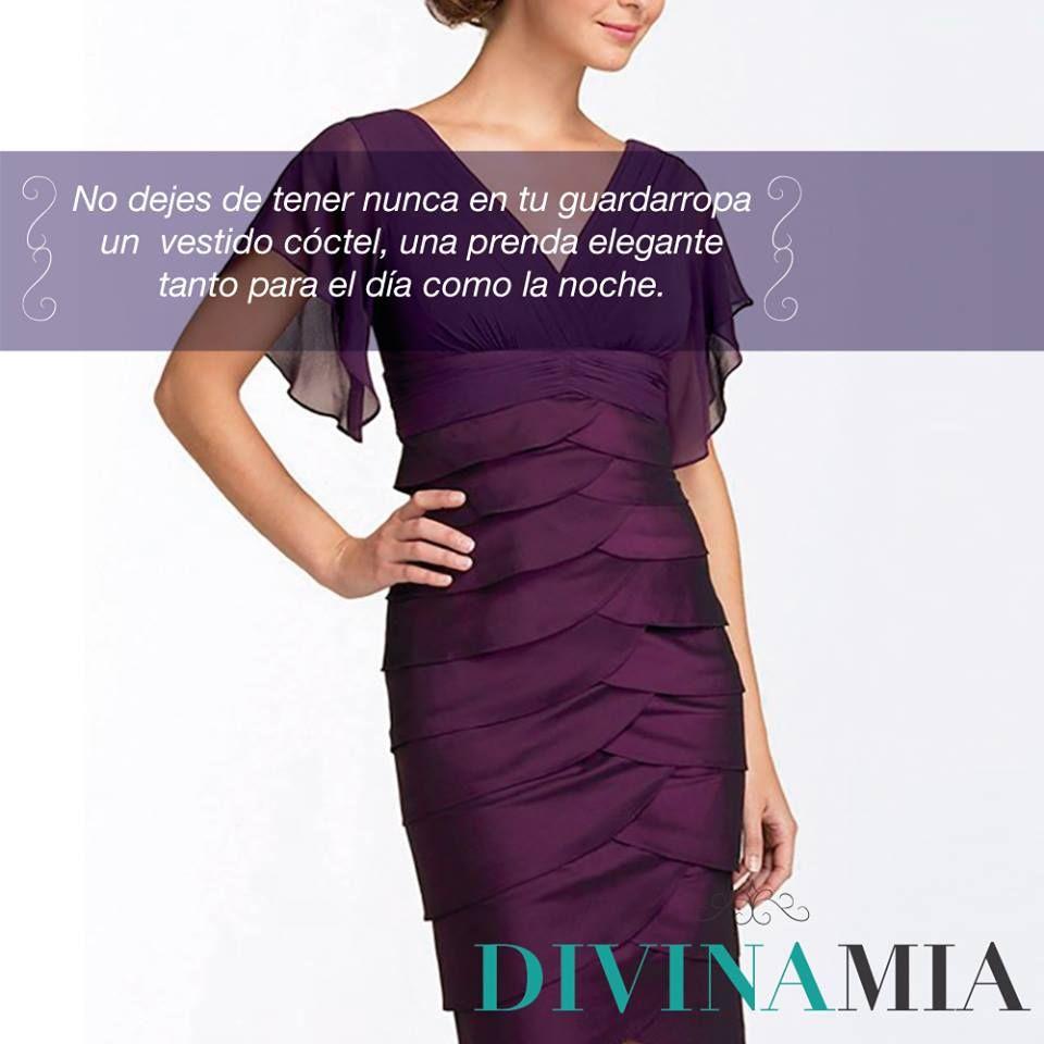 Tip de Moda: Un vestido cóctel es muy apropiado para eventos en el ...