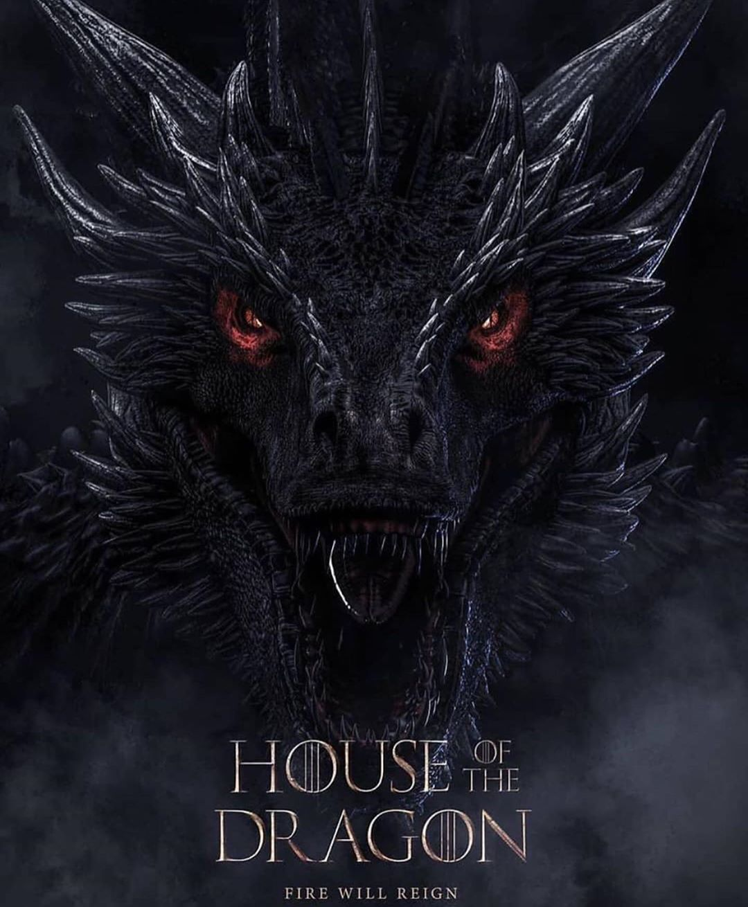 Game Of Thrones On Instagram House Of The Dragon Fan Art Are You Ready For T In 2020 Balerion The Black Dread Dragon Tattoo Game Of Thrones Game Of Thrones Tattoo