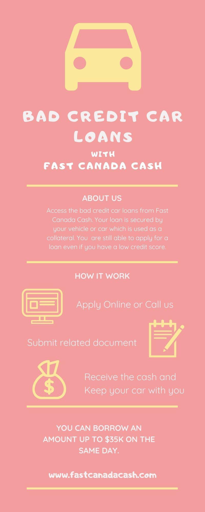 Short Term Bad Credit Car Loans Vancouver in 2020 Bad