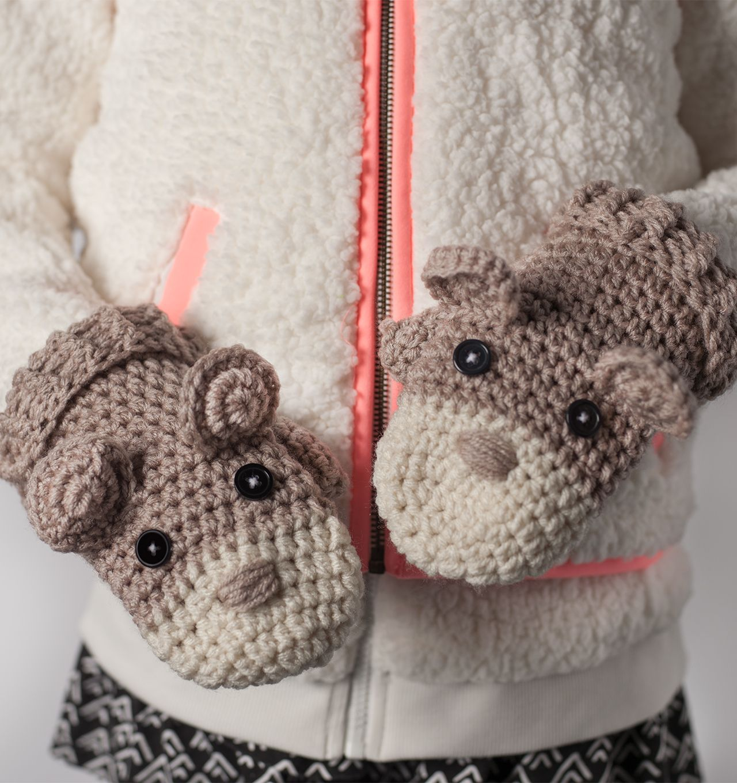 Ahhhdorable Critter Mittens: FREE crochet pattern | Crochet LOVE ...