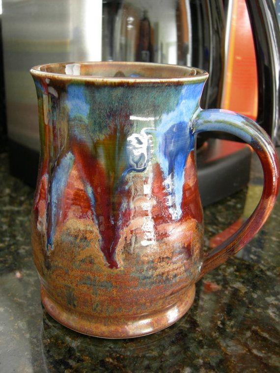 Coffee Mug Tea Cup Hot Chocolate Mug Handmade Mug By