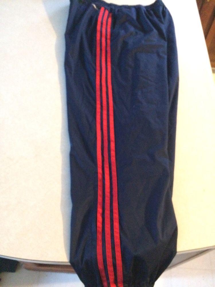 57e05bb7a44b Adidas 90 s Vintage Mens Tracksuit Pants Nylon Free Shipping