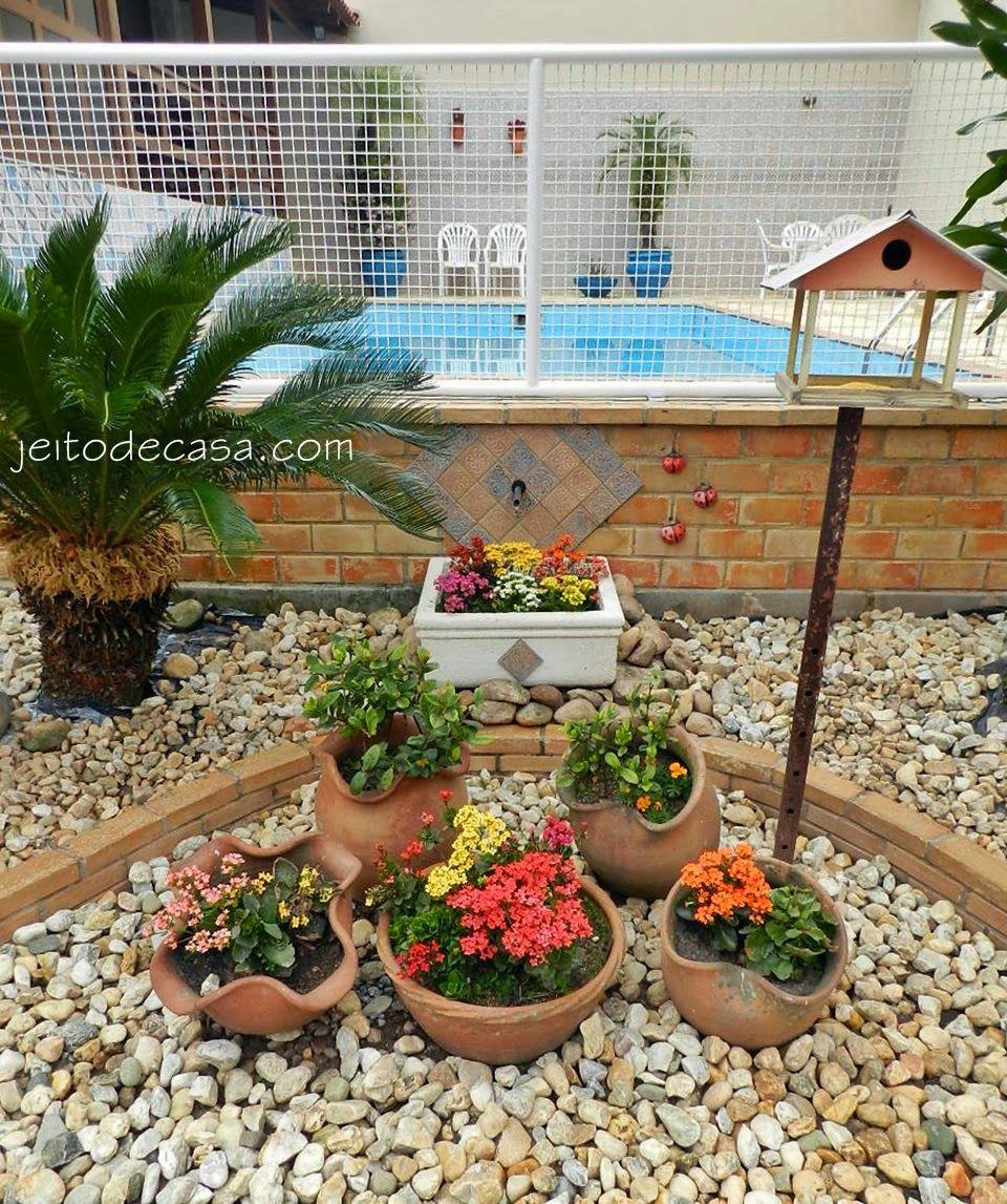 pedras para colocar no jardim Pesquisa Google JARD u00cfN Pinterest Google, Jardins e  -> Decoração De Jardins Com Pedras E Flores