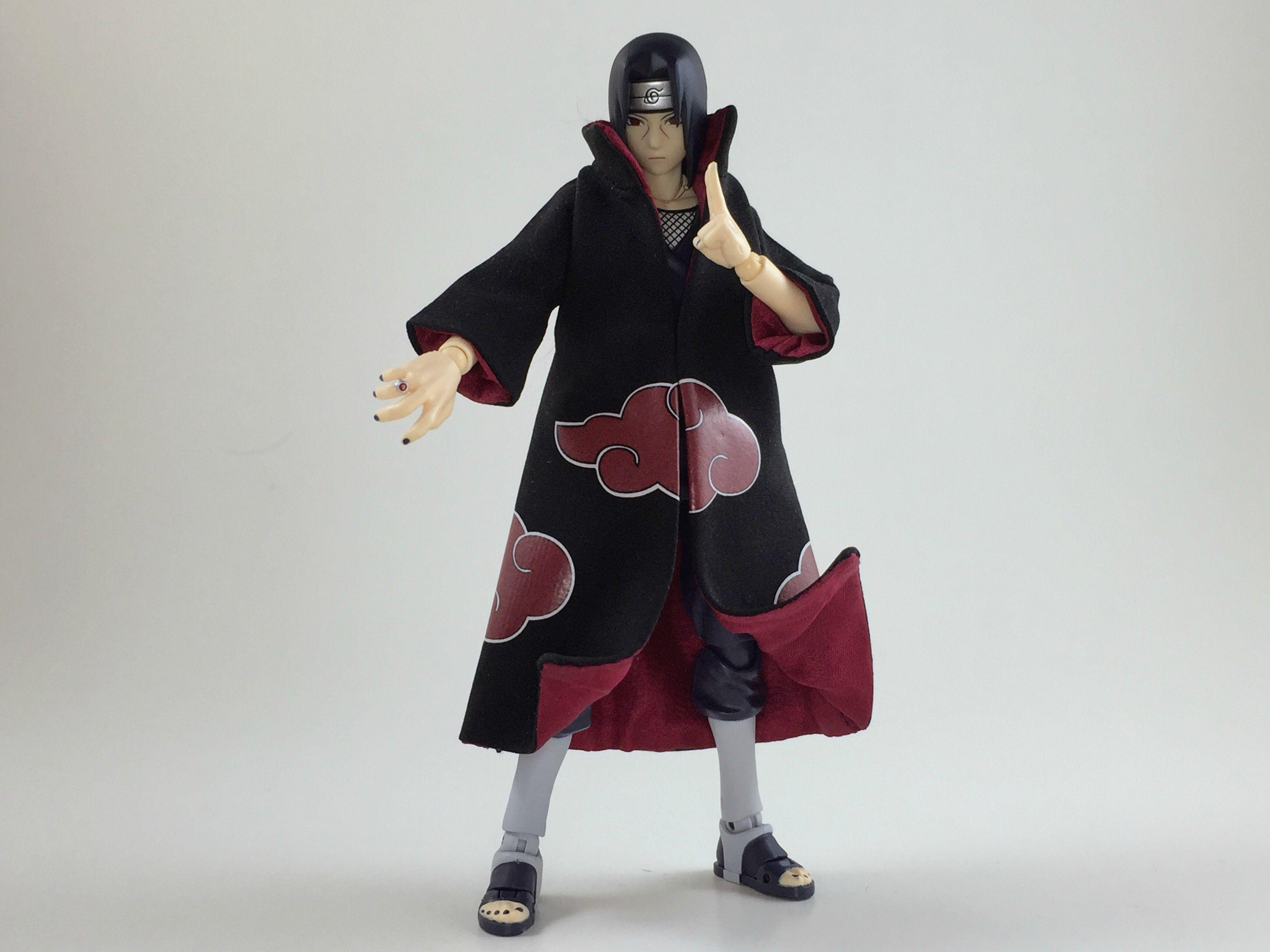 S.H.Figuarts Custom Akatsuki Robe Uchiha Itachi Naruto
