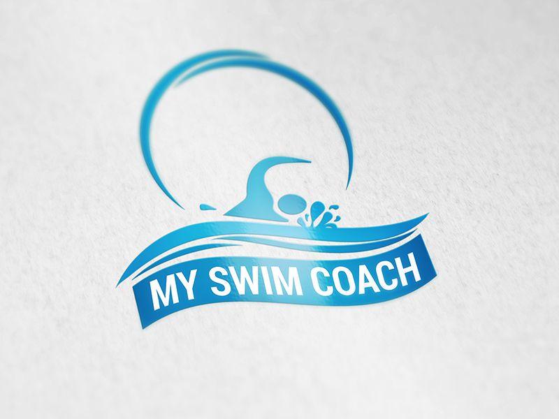 Swim Coach Logo