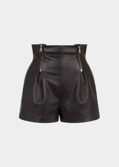 selezione premium 87705 9c3ae High Waisted Leather Shorts for Women | US Online Store ...