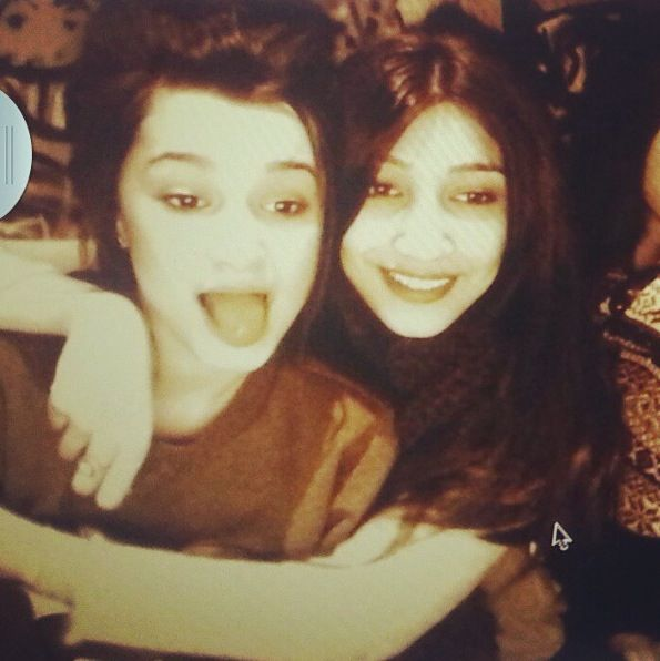 Walhiya and Zarish! I swear, the whole Malik family is blessed with good looks!