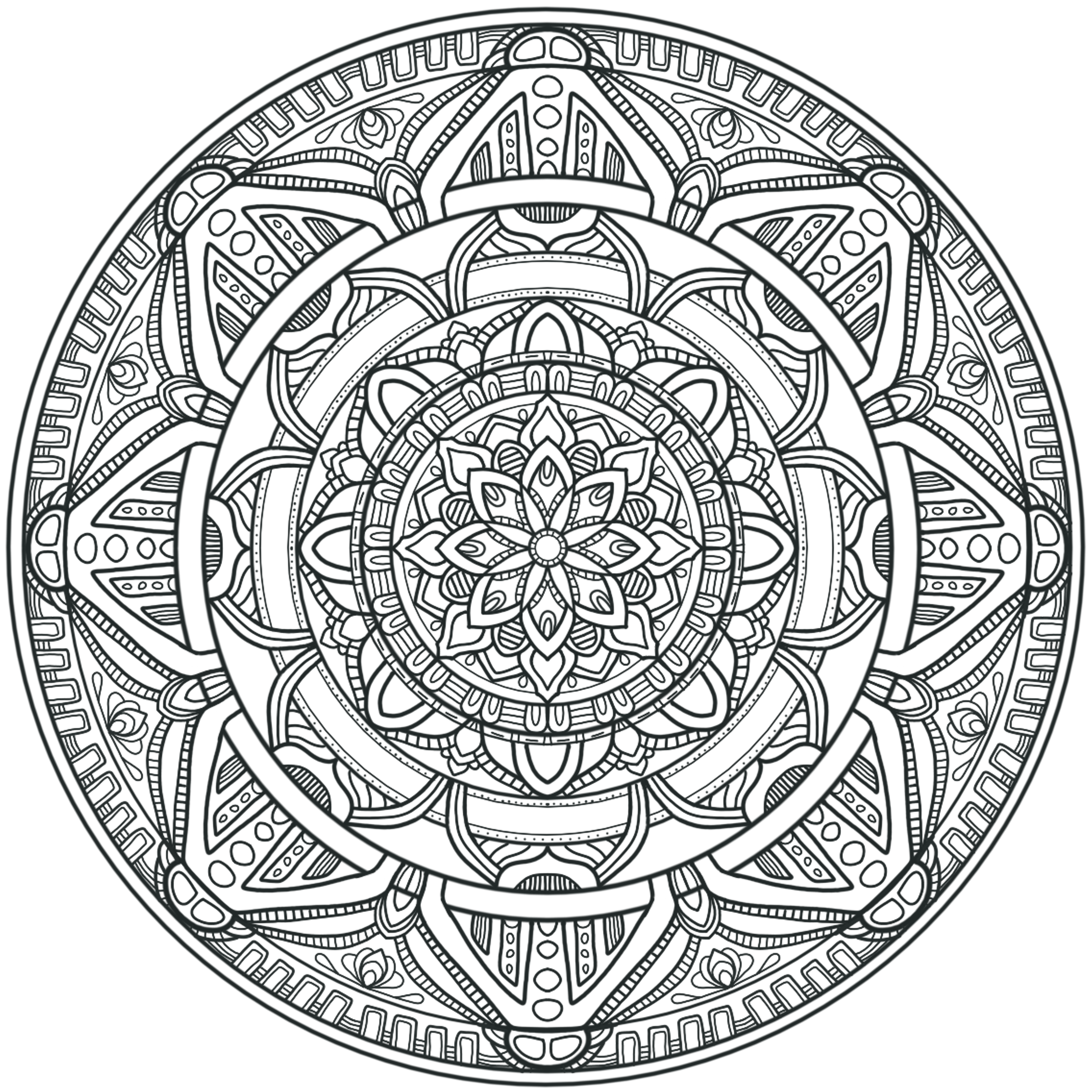 Krita Circles Mandala 3 By WelshPixiedeviantart On DeviantArt