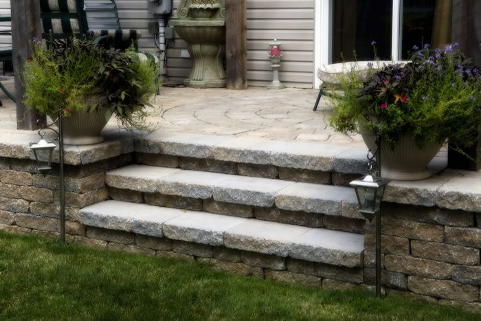 Pin By Lori Russell Peitz On Ayles Natural Landscaping Natural Landscaping Patio Patio Stones