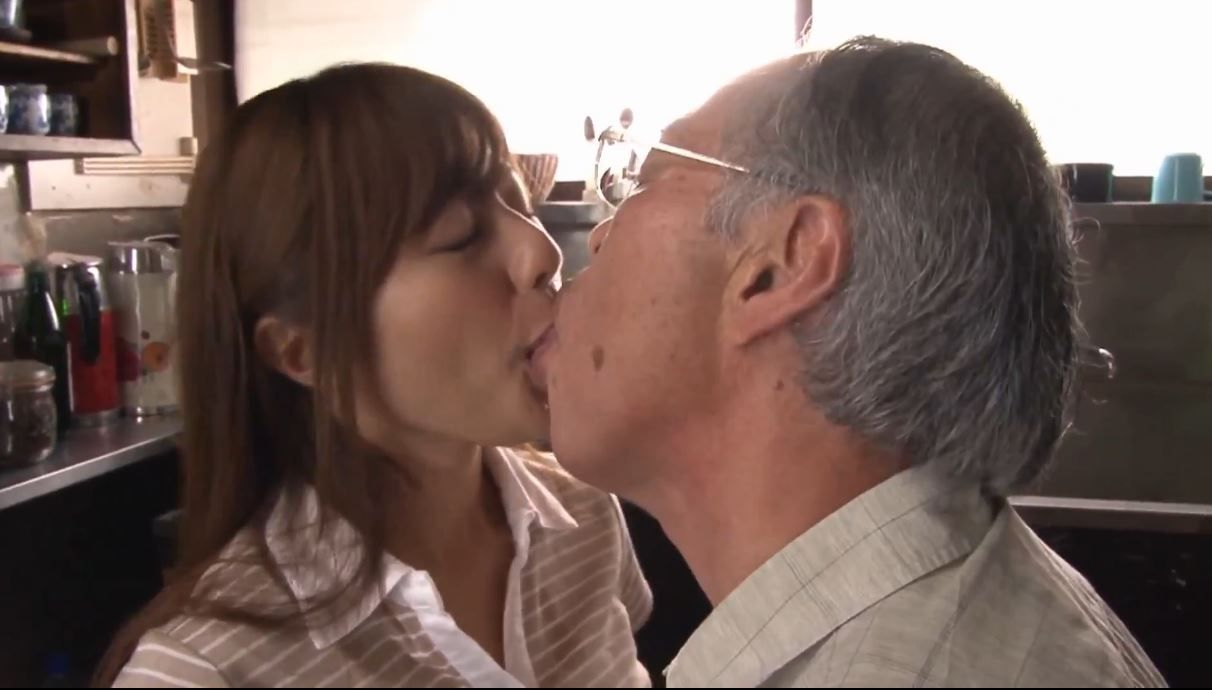 Young Girl Seducing Old Man