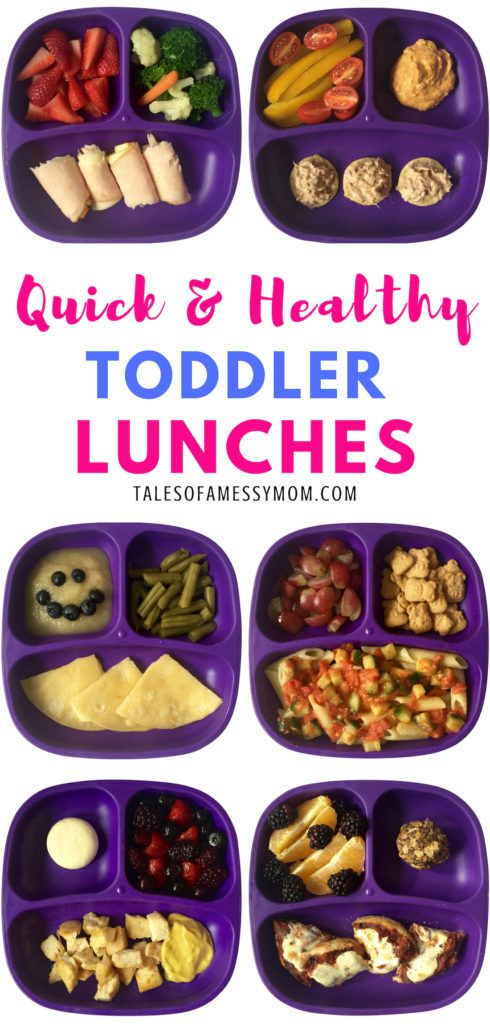 Quick and Healthy Toddler Lunch Ideas images