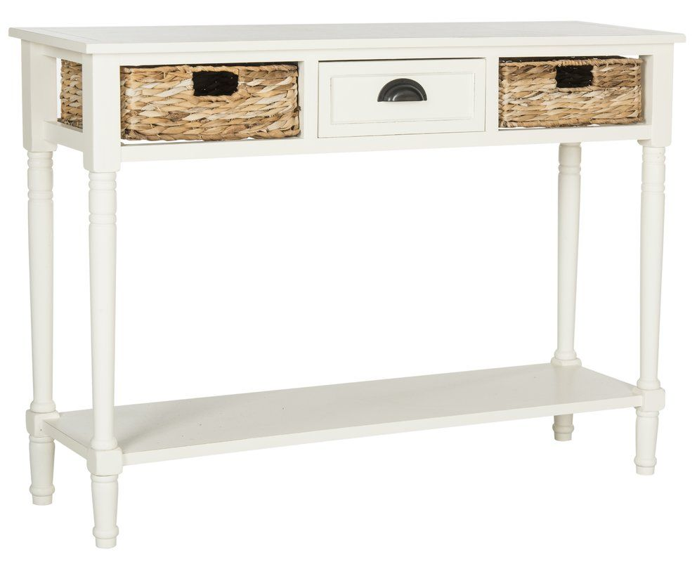 Malcolm Console Table Console Table White Console Table Contemporary Console Table
