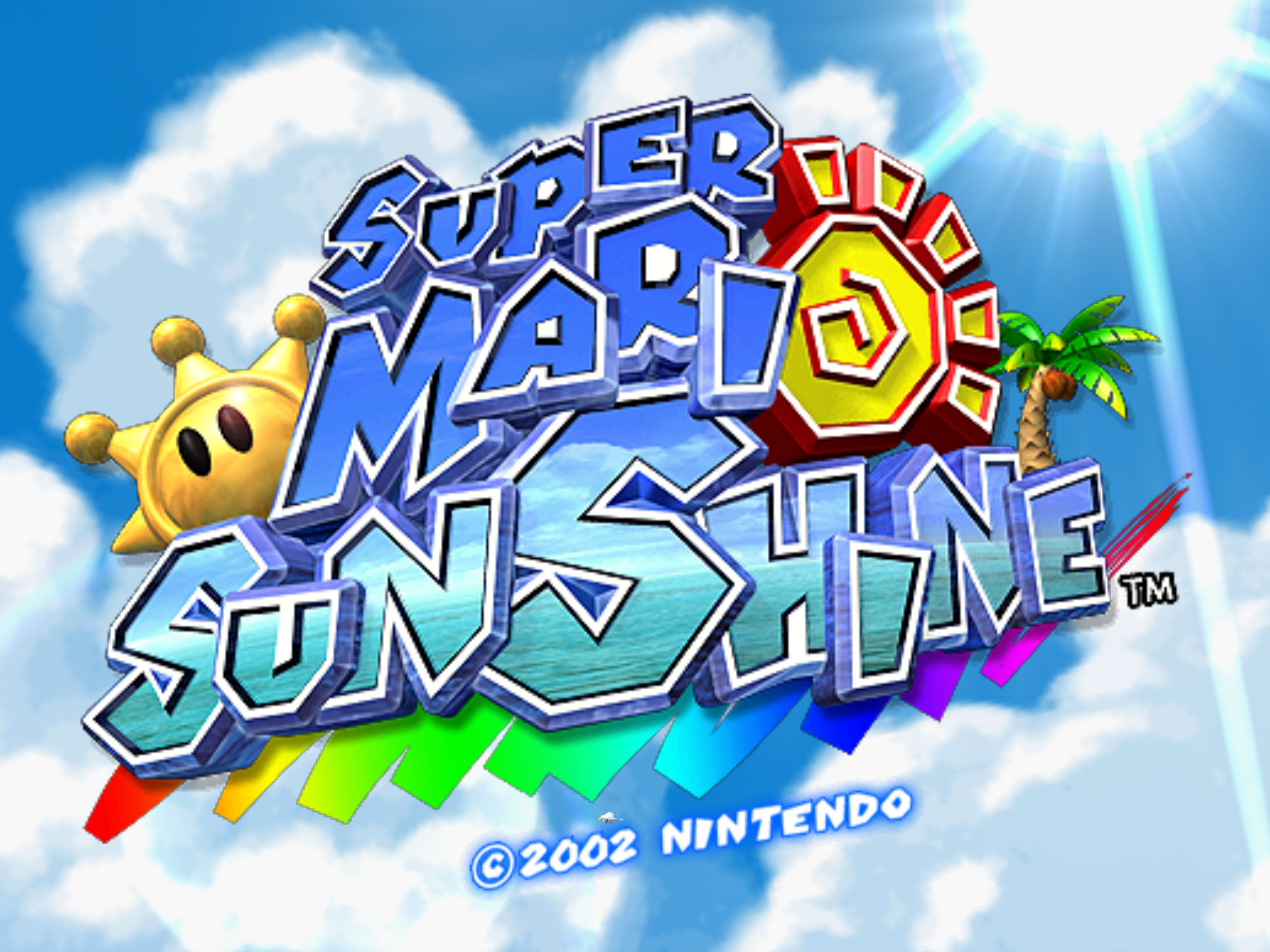 Why We Need Super Mario Sunshine 2 More Than Any Other Mario Sequel Gizorama Super Mario Sunshine Sunshine Logo Super Mario Sunshine 2