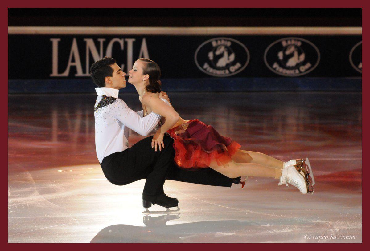 ....Anna Cappellini e Luca Lanotte (Torino Palavela) #torino #Awards #worldawards #Icegalà