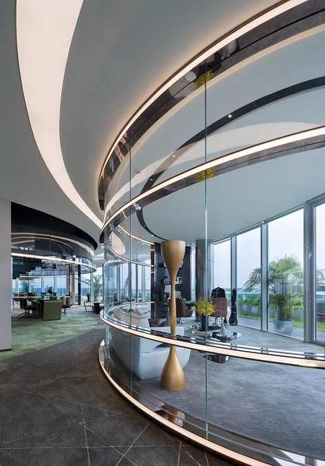 Hongqiao World Centres Office Building Design Shanghai China