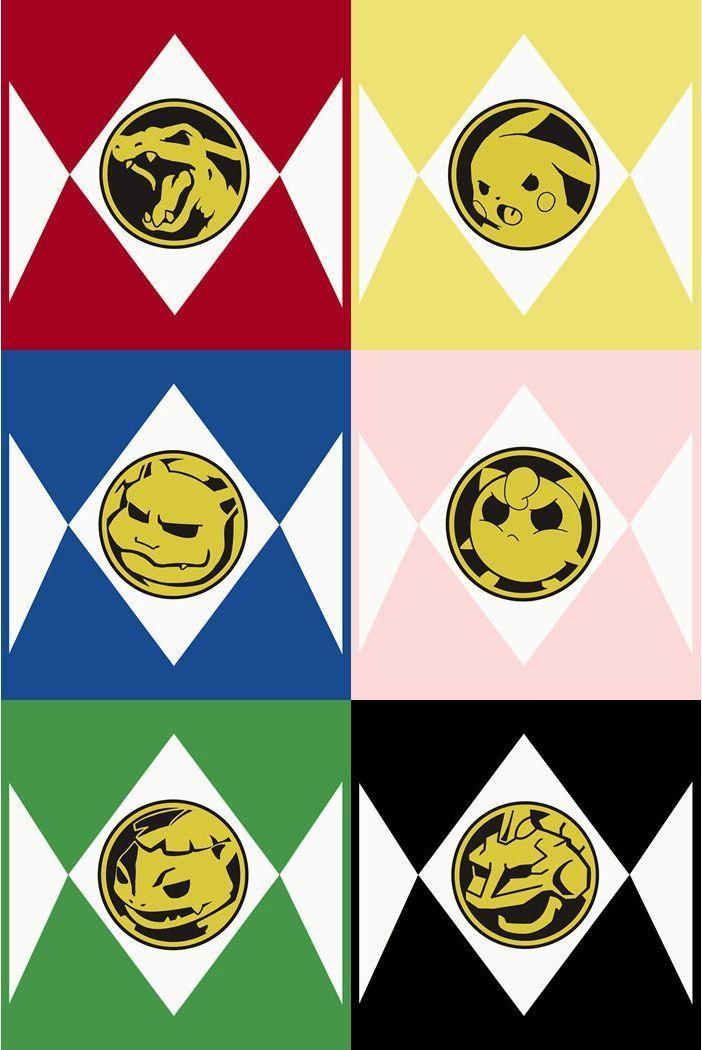 Go go Poke Rangers! (With images)   Pokemon, Power rangers