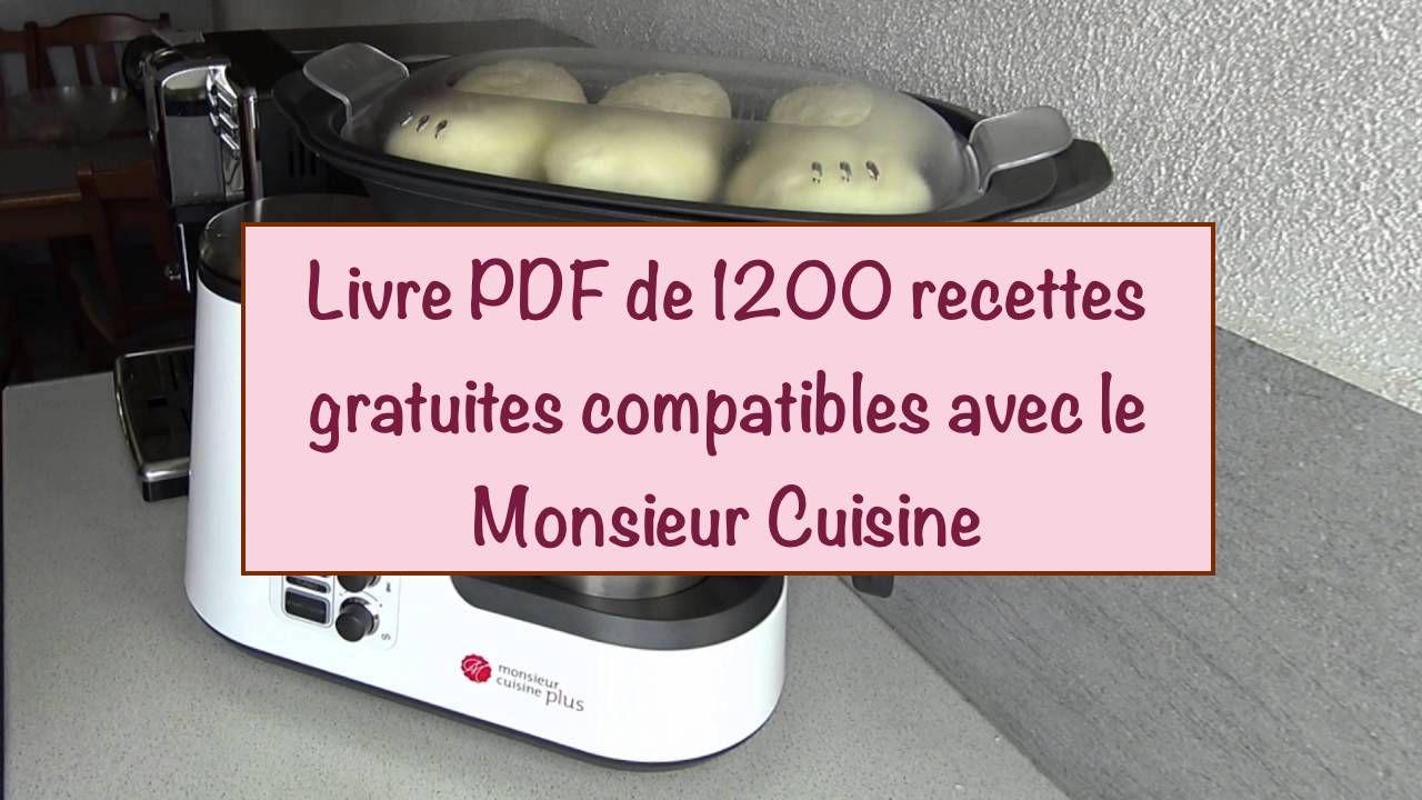 Les Livres Pdf Monsieur Cuisine Gratuit Cuisine Lidl