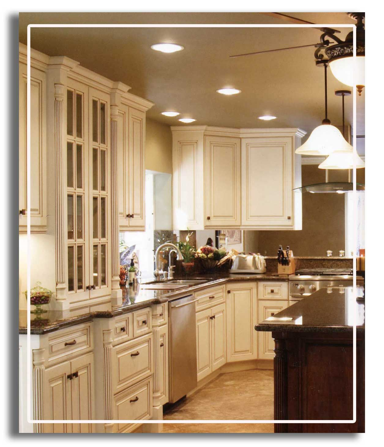 this is exactly the kitchen i would choose!!! i love the ivory