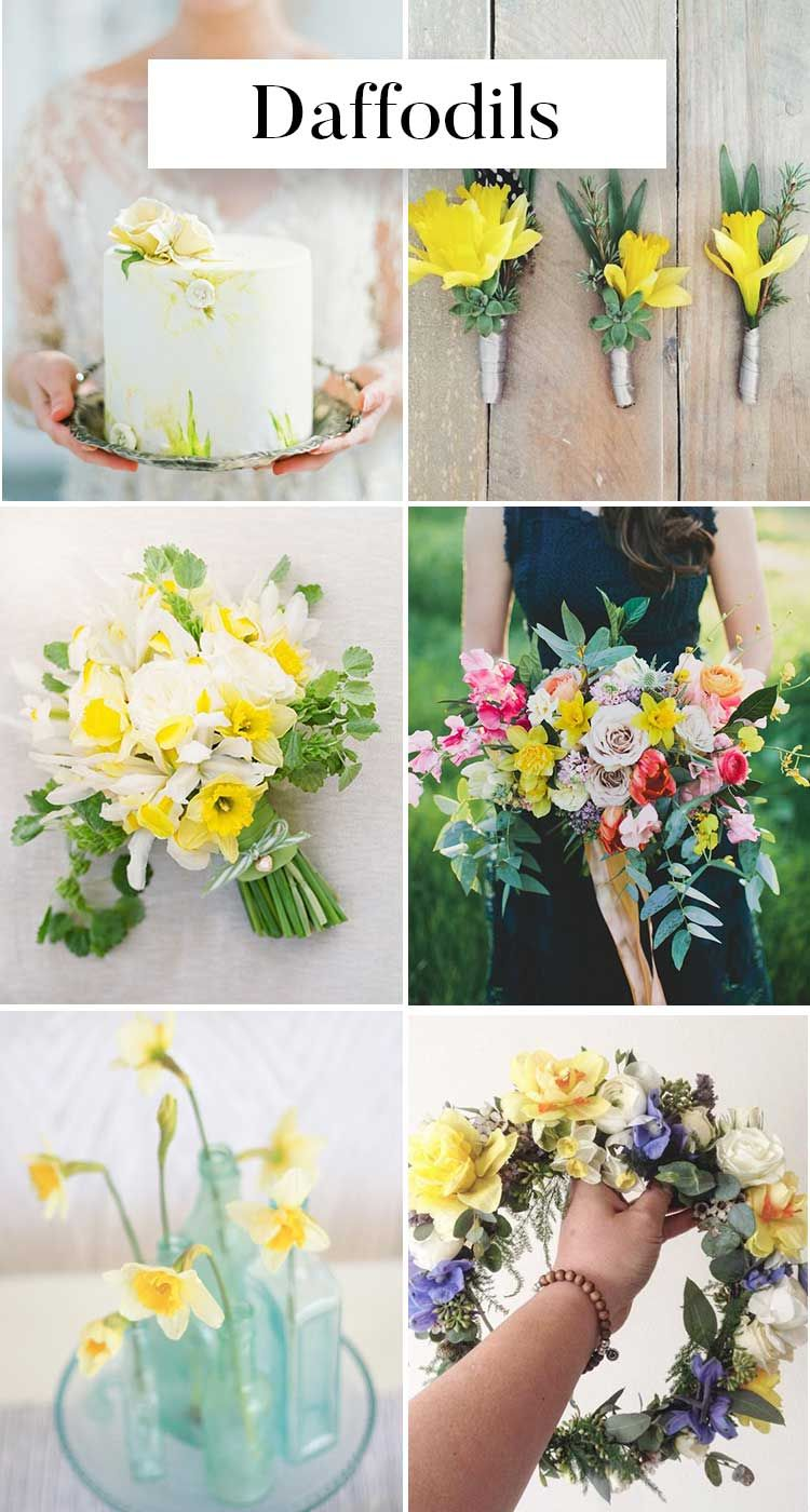 The Ultimate List Of Spring Wedding Flowers Every Bride Needs To See
