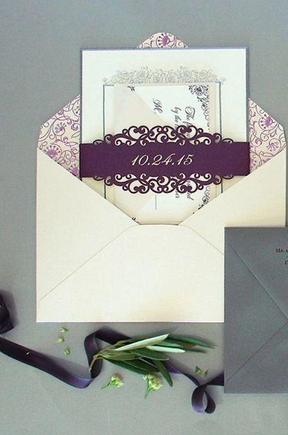 Wedding invitation idea; Featured Invitations: Southern Fried Chicken