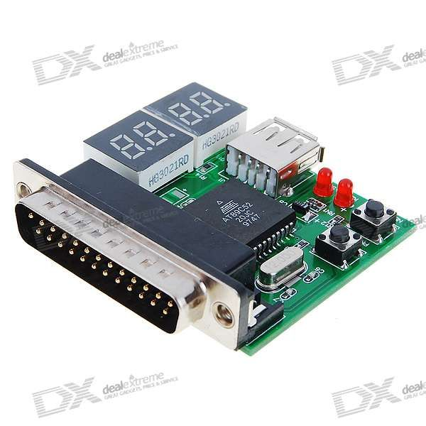Usb Parallel Laptop Motherboard Analyzer Diagnostic Test