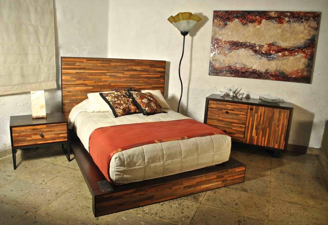 Rec Maras 8 Bases De Cama Sensacionales Bedrooms # Muebles Camas King Size