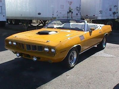 Nash Bridges '71 Plymouth Barracuda