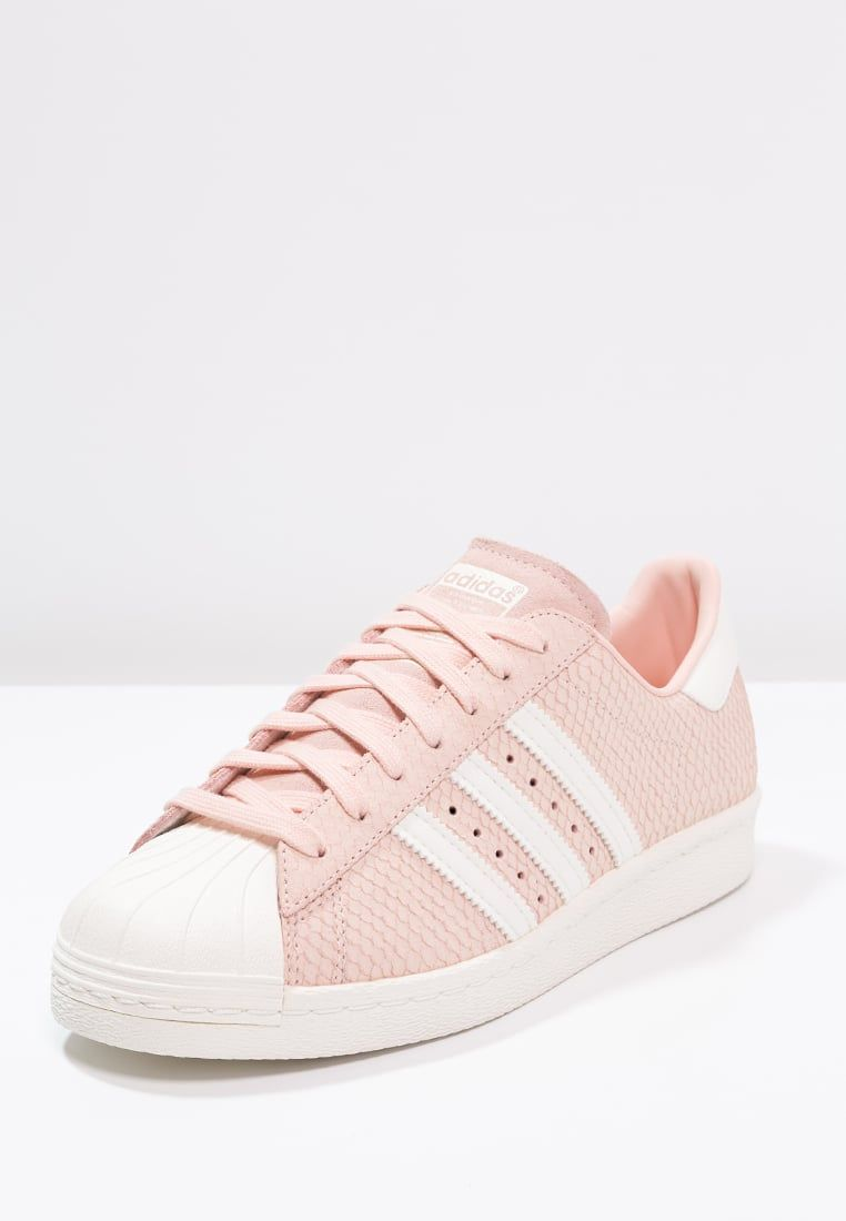 Sneakers laag adidas Originals SUPERSTAR 80S - Sneakers laag - blush  pink/offwhite Rosa: