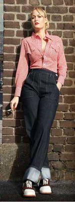 50s fashion jeans girls wwwpixsharkcom images