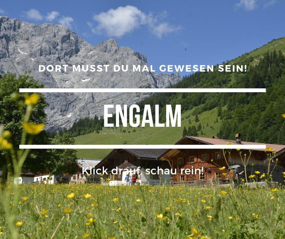 Schonste Alm Im Karwendel Engalm Am Ahornboden Karwendel Alm