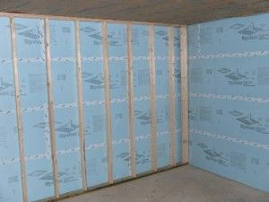 Elegant Styrofoam Insulation for Basement Walls