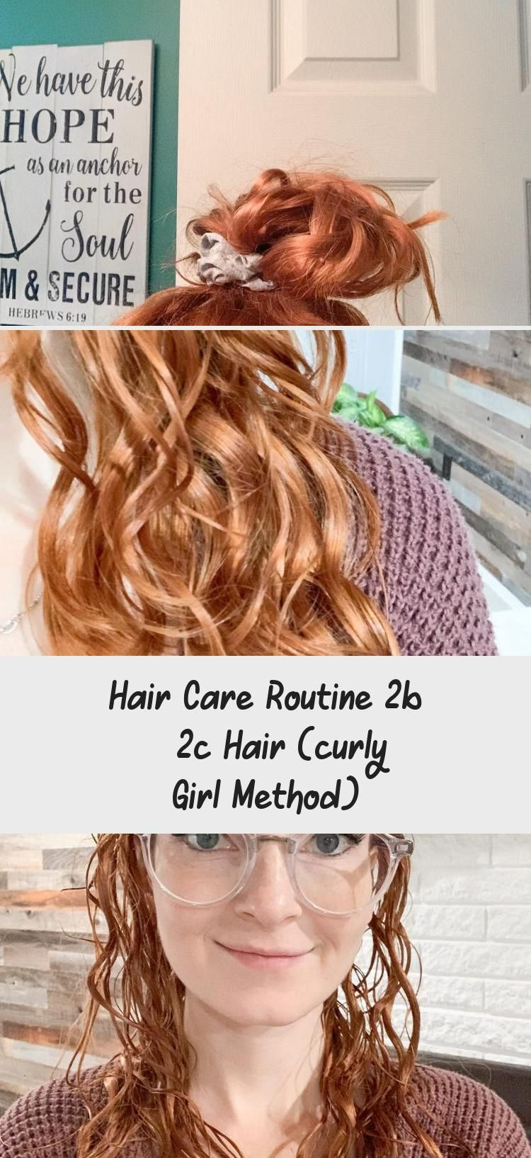 Hair Care Routine 2b 2c Hair (curly Girl Method in 2020