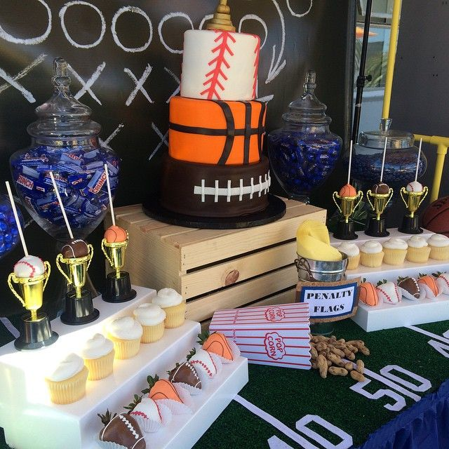 25 Best Ideas About Basketball Decorations On Pinterest: Baby Shower: Sports Theme