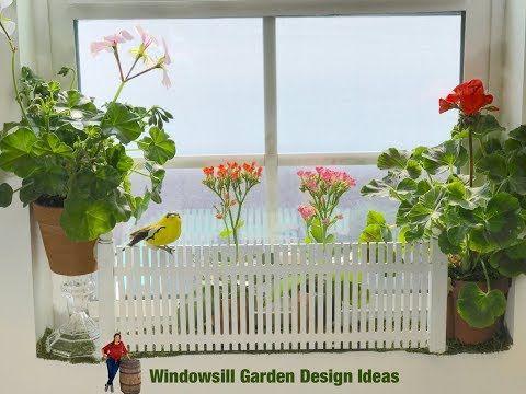 Creative Windowsill Garden Design Ideas! - YouTube ...